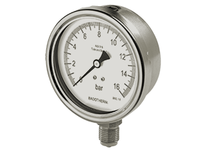Stainless Steel Safety Pressure Gauges